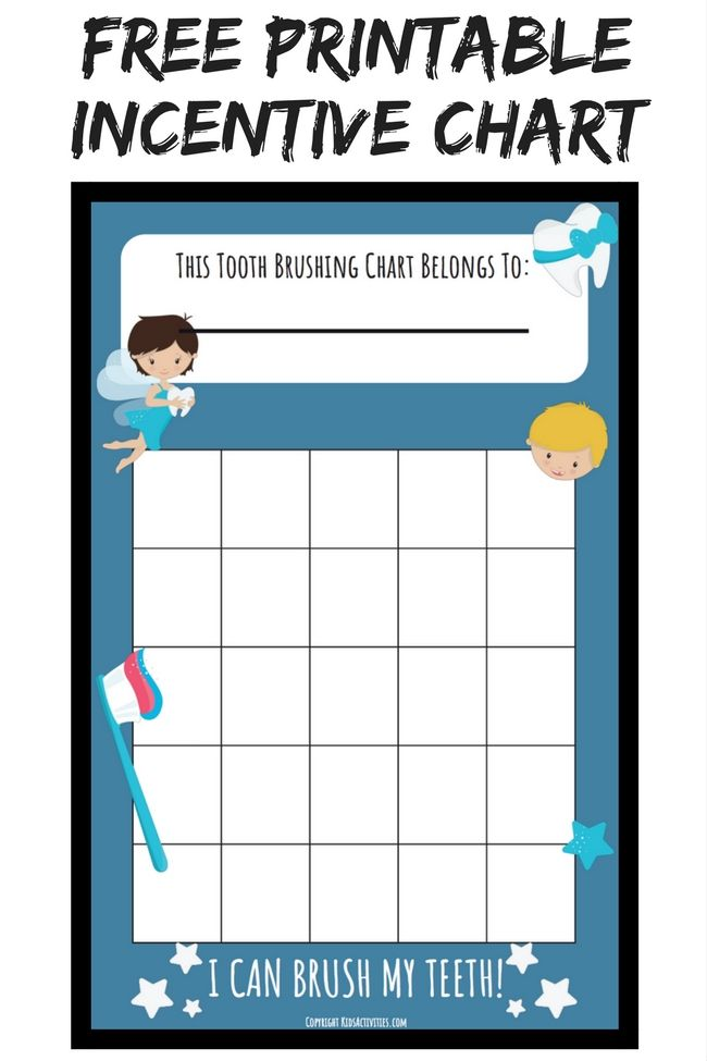 free printable incentive sticker charts