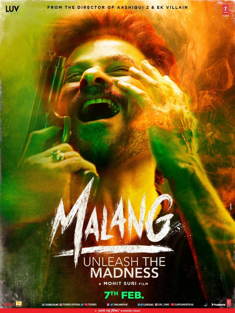 Malang Posters Featuring Anil Kapoor And Disha Patani Directed By Mohit Suri 7 Feb 2020 Release In 2020 Hd Movies Download Movies Quotes Scene Malang