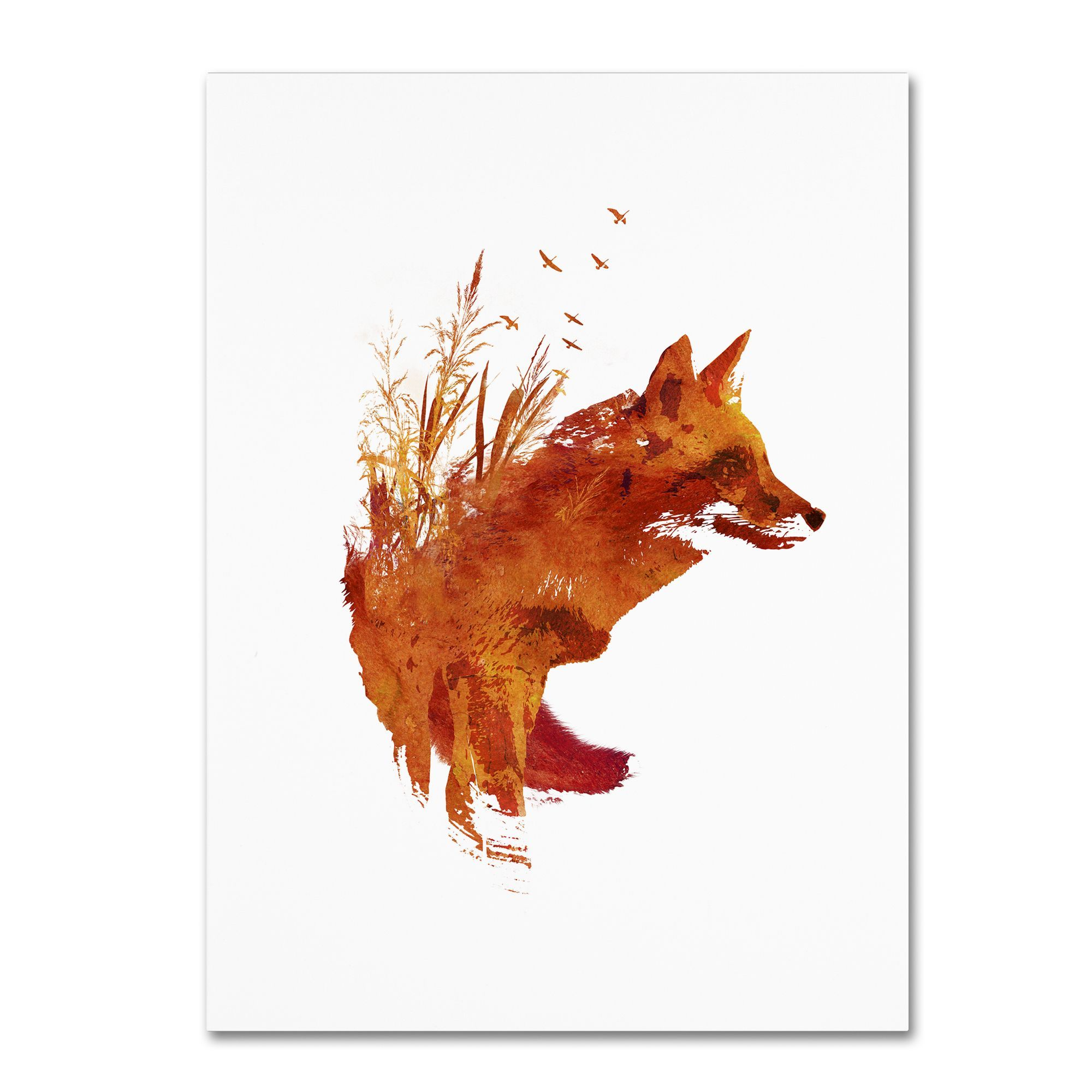 Overstock Com Online Shopping Bedding Furniture Electronics Jewelry Clothing More Fox Art Print Fox Art Canvas Art