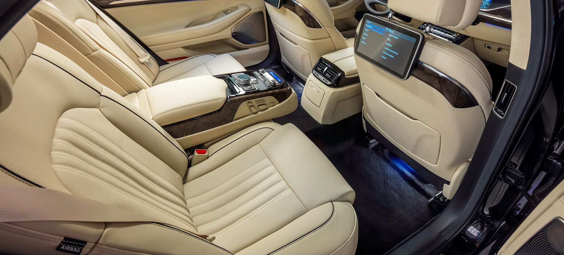 The Back Seats Of The Genesis G90 Are Thrones Hyundai Genesis Hyundai Genesis Coupe Hyundai
