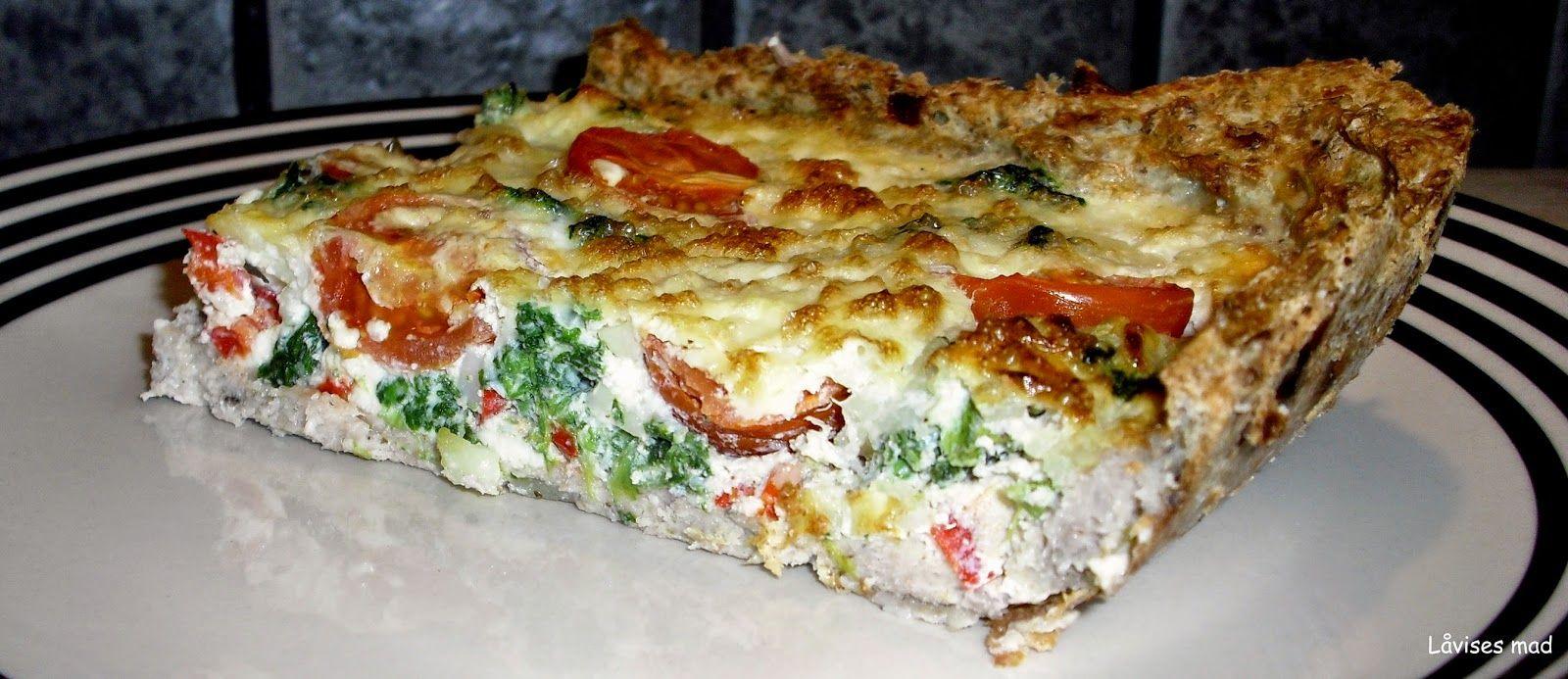 Låvises mad: Grønsagstærte med farsbund