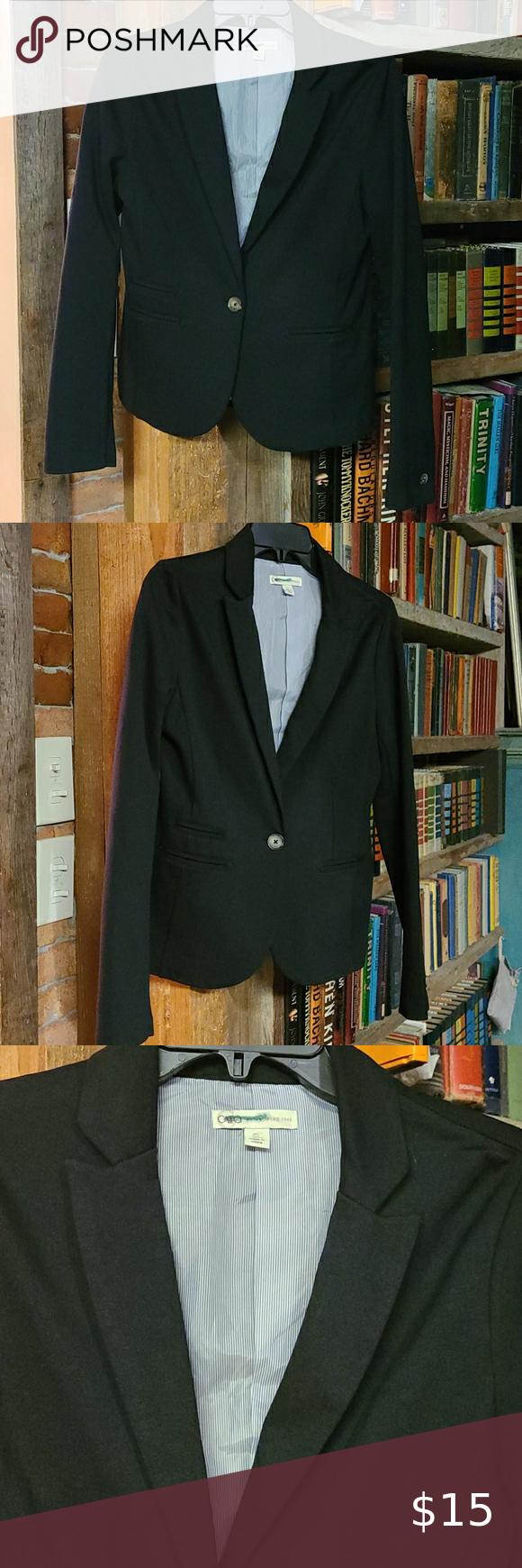 Cato Suit Jacket Size Small Black Suit Jacket Coats Jackets Women Dot Jacket [ 1740 x 580 Pixel ]