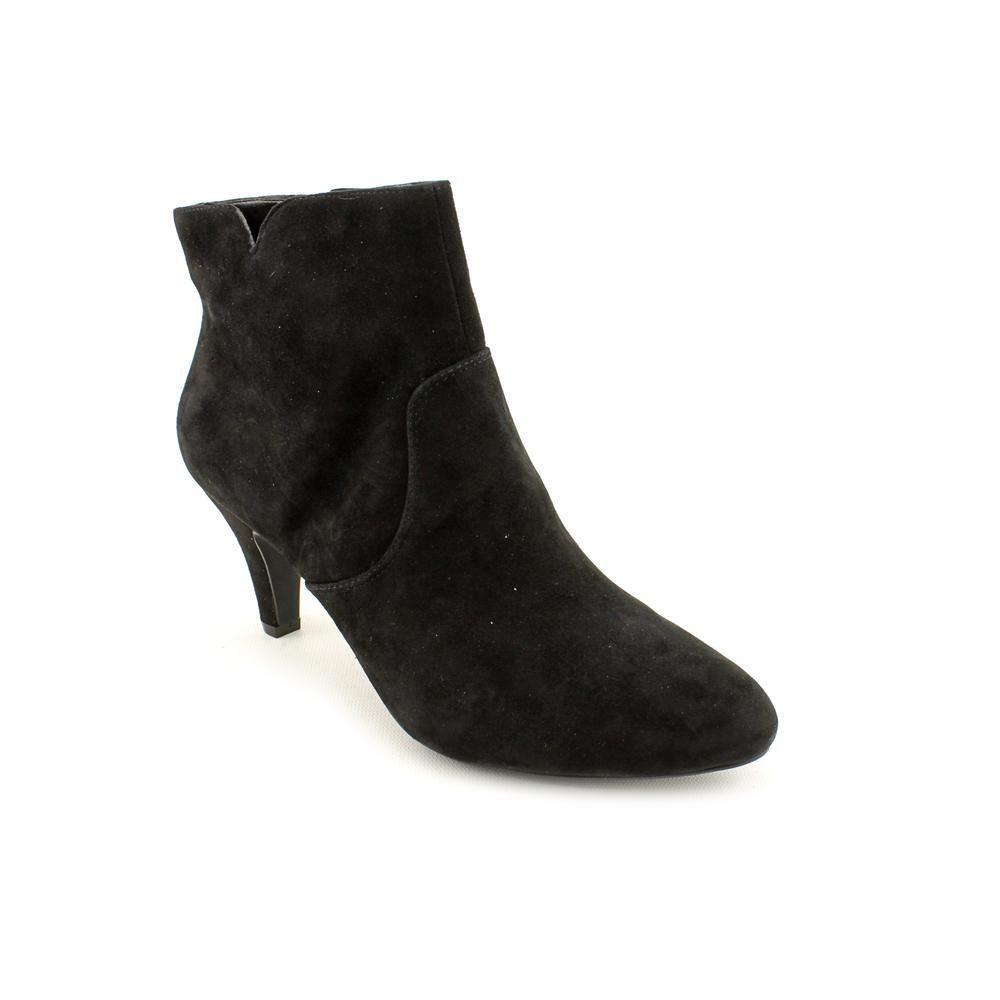 1543a3caf50 INC International Concepts Women s  Hannah  Regular Suede Black Boots Size  6  99  INCInternationalConcepts  FashionAnkle