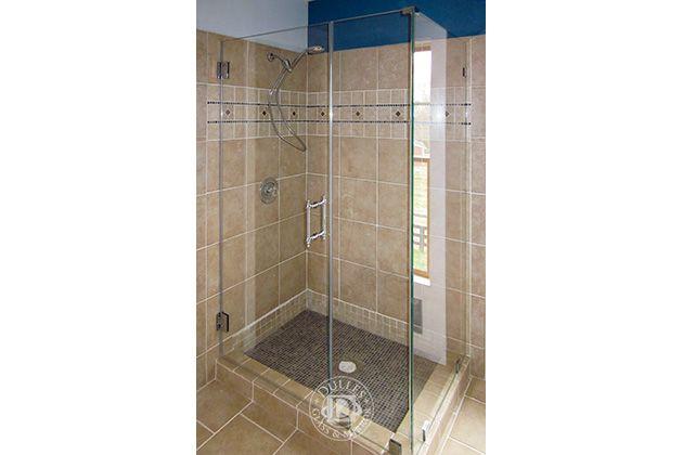 This Glass Shower Door Has 90 Degree Shower Frameless Shower Doors Chrome Finish Low Iron Glass Shower Doors Frameless Shower Doors Frameless Shower