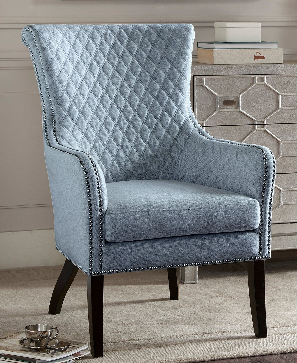 Heston Accent Chair Quick Ship Chairs Recliners Furniture