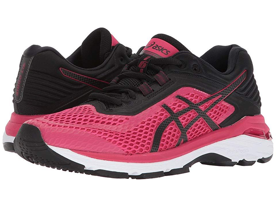 finest selection abd0a d7d04 ASICS GT-2000 6 (Bright Rose/Black/White) Women's Running ...