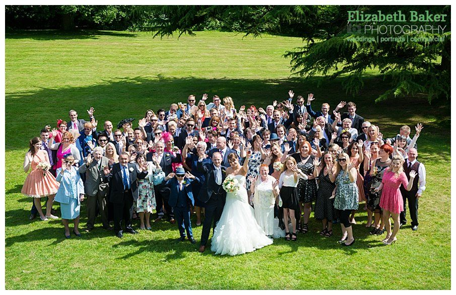 Michaela and Phil got married at Bartle Hall on a glorious day - Elizabeth Baker Photography