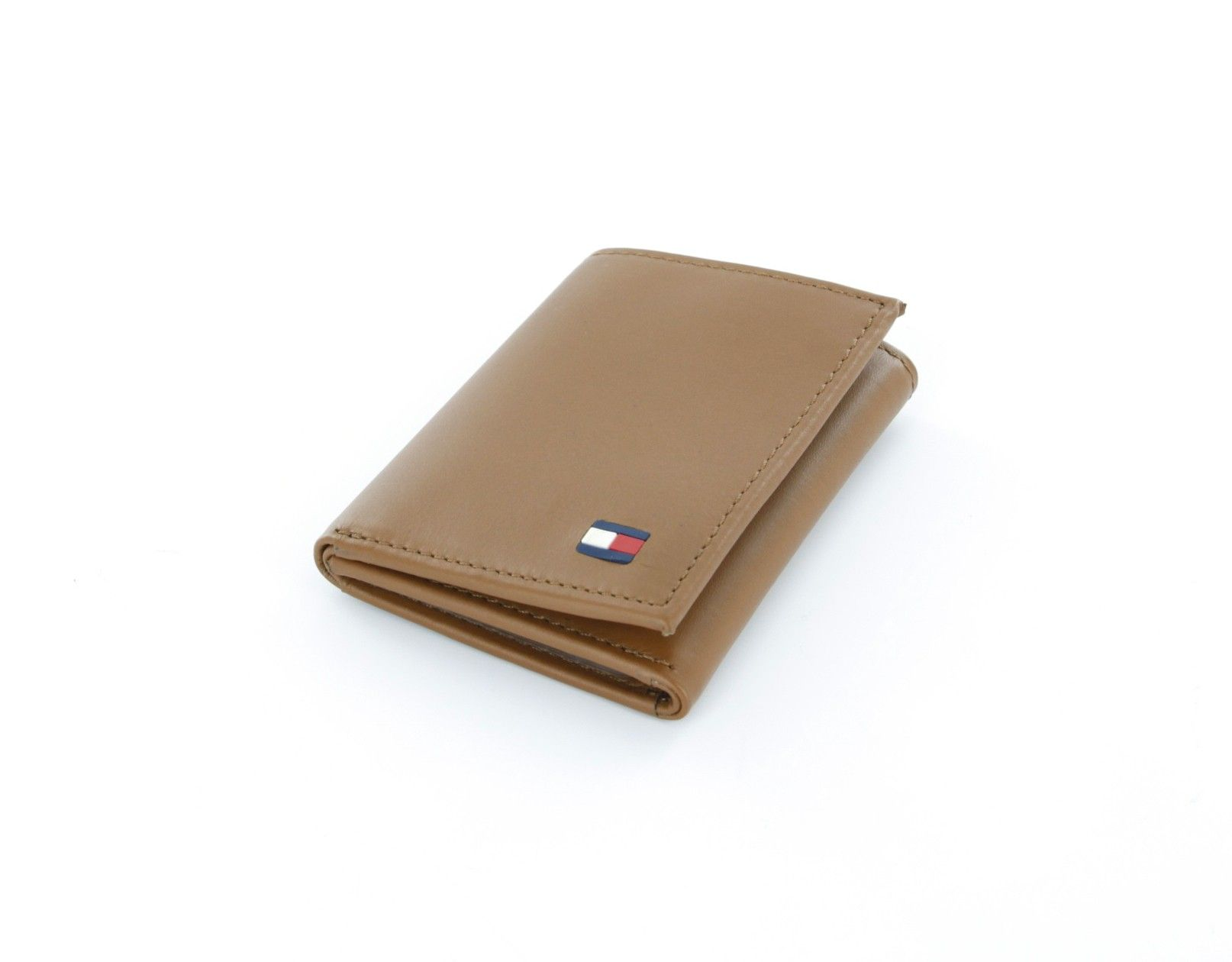 29 67 Tommy Hilfiger British Tan Genuine Leather Trifold Wallet With Id Window Wallets Tommyhilfiger F Tommy Hilfiger Wallet Leather Leather Trifold Wallet