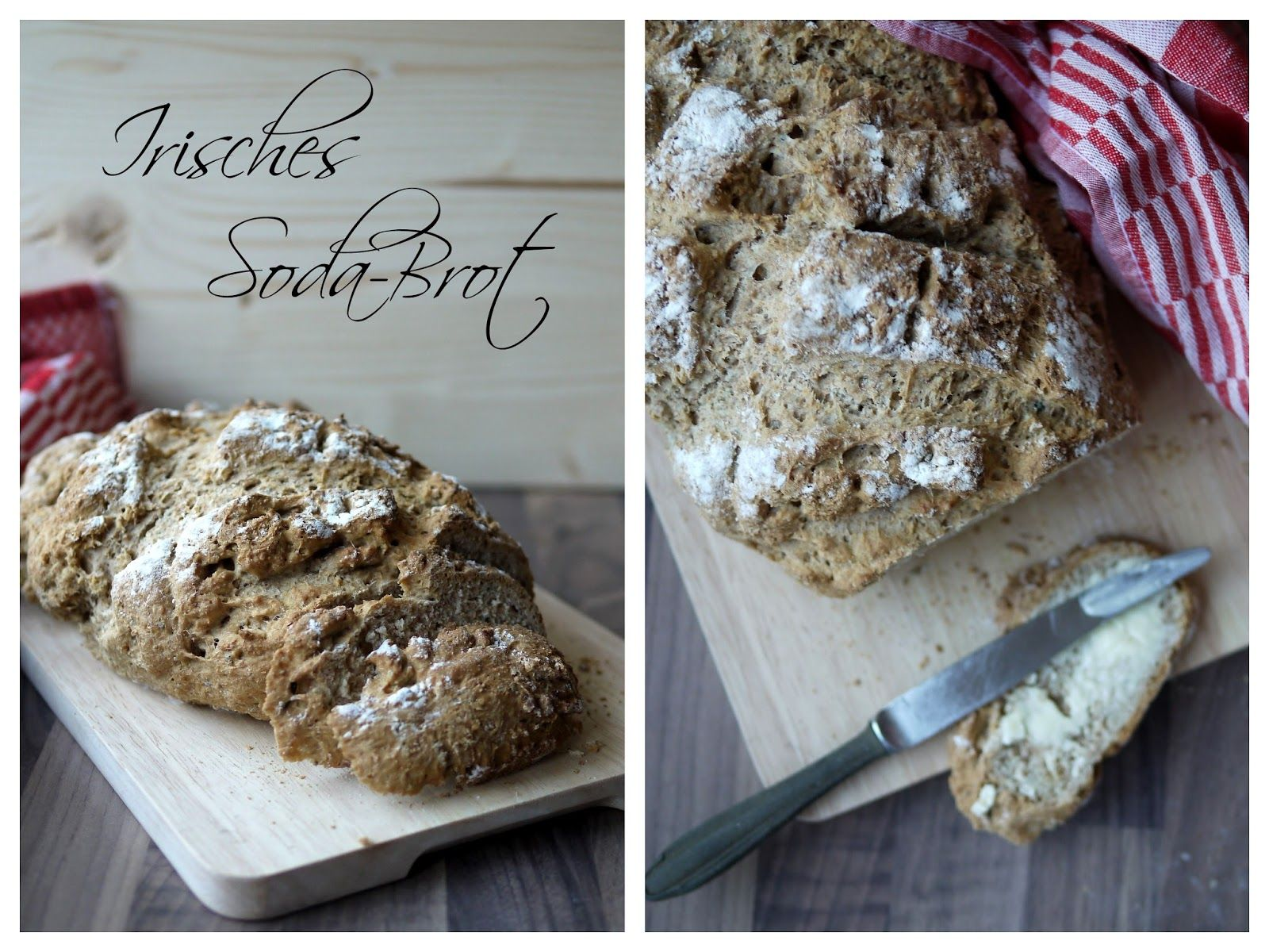Backen Soda Irisches Soda Brot Mit Ein Paar Macken For The Sweet