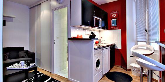 #Studio meublé de 20 m2, rue de Charonne, #Paris 11e