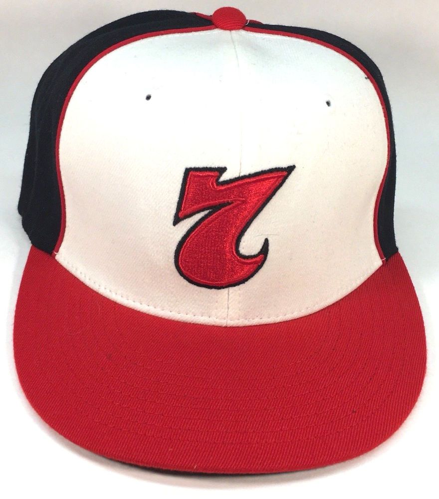 6b5b8e7f3cd Red 7 Red Button Seven Black white red Baseball Hat Cap L-XL Flex Fit   fashion  clothing  shoes  accessories  mensaccessories  hats (ebay link)
