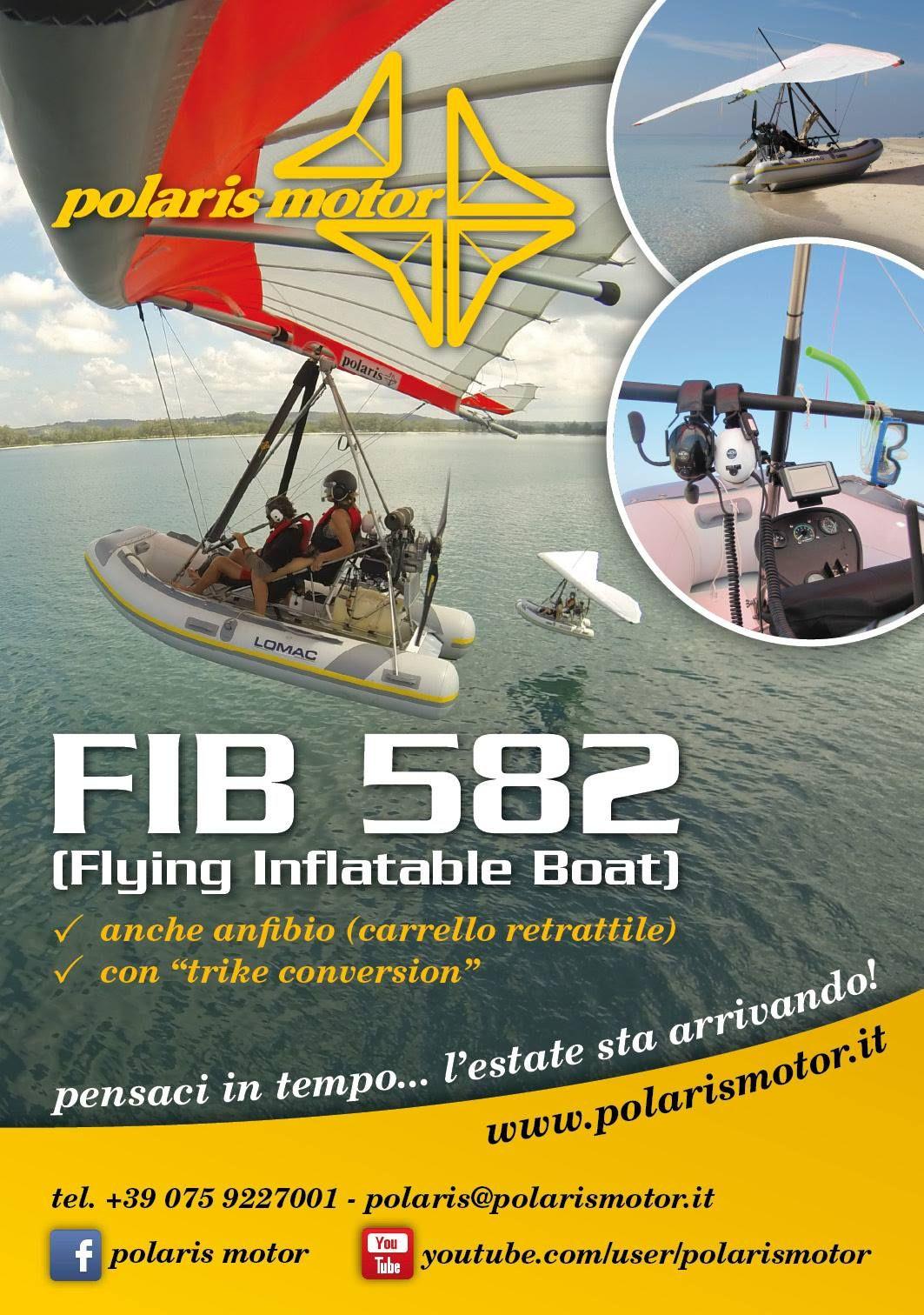 Depliant Flying inflatable boat polaris motor
