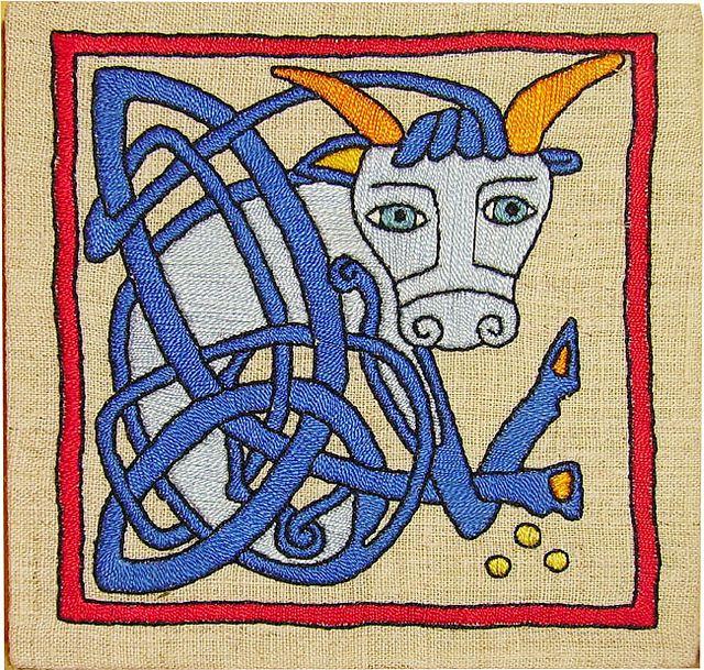 The Ox Symbol Of Stke The Evangelist Symbols Celtic Calendar
