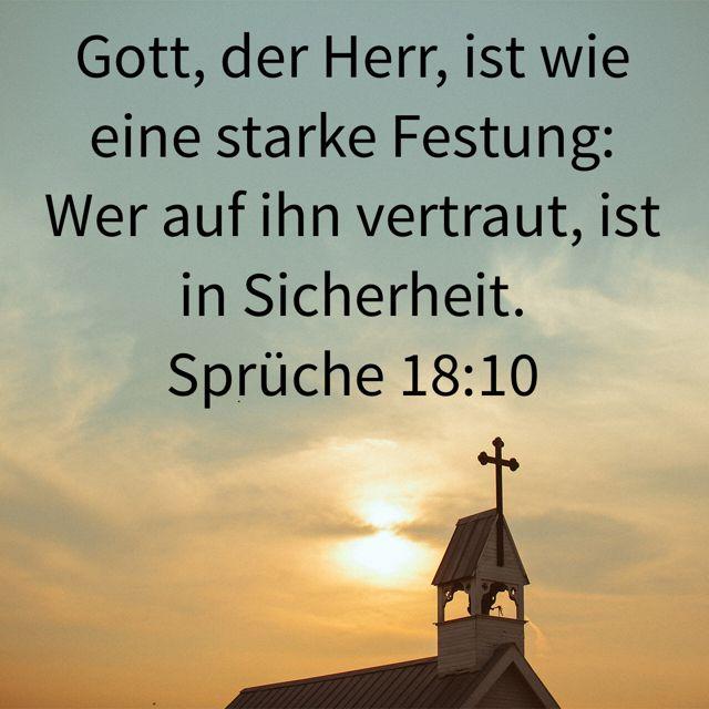 Sprüche 18:10   Deutsch   Psalms, Favorite bible verses ...