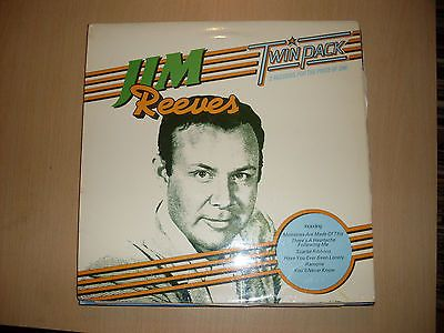 Jim Reeves Twinpack RCA NL 43027 Vinyl 2 LP Album  some great soft Country music hits