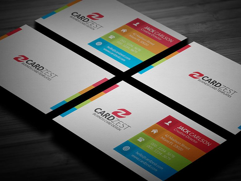 All New Free Business Card Templates by Cardzest.com