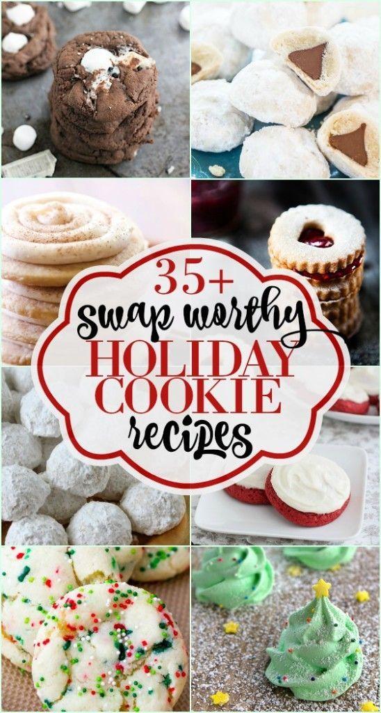 35+ Holiday Cookie Swap Recipe Ideas Cookie swap recipes