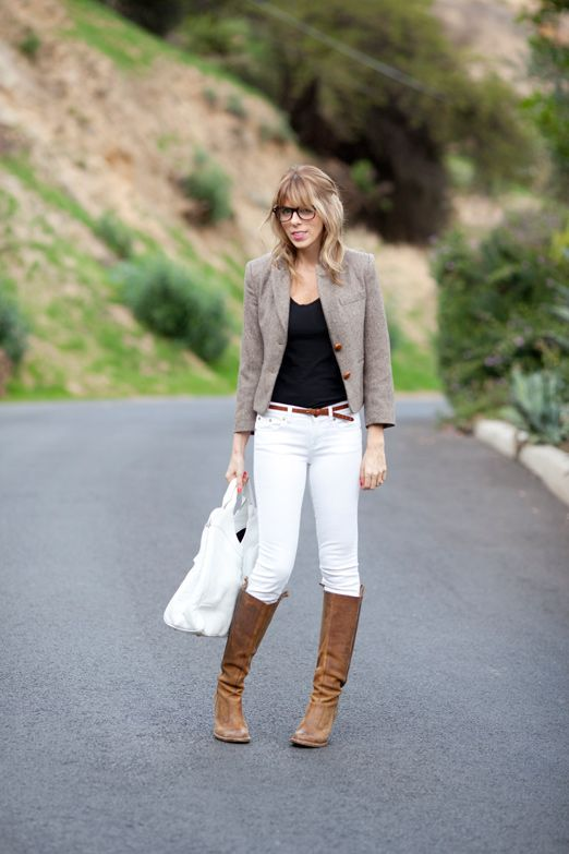 17  images about How to: Winter White Jeans on Pinterest | Gold ...