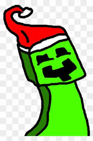 Minecraft Christmas Creeper Creeper Christmas Free Transparent Png Clipart Images Download Minecraft Christmas Minecraft Skins Creeper Minecraft Skins Red