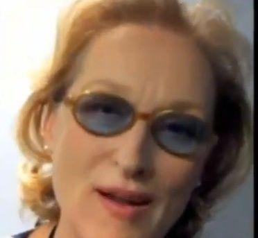 Meryl Streep Cold Sore Bottom Lip