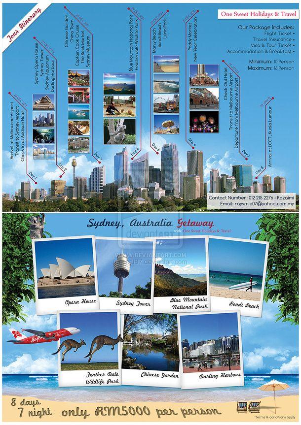 Sample Travel Flyer  Travel Flyer Design