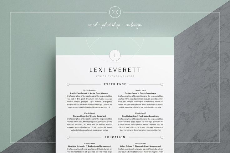 Resume/CV Lexi - resume valley