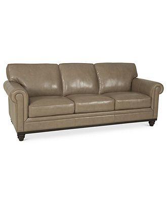 Martha Stewart Collection Bradyn 89\ - wohnzimmer ideen braune couch