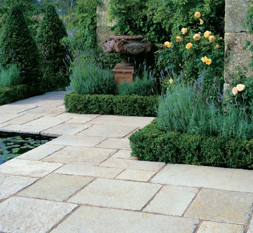 vintage limestone garden paving | garden | pinterest | garden