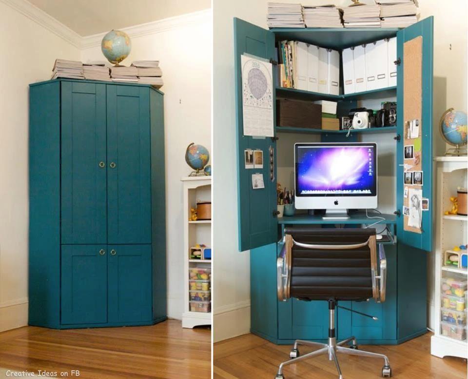 Hidden Desks hidden desk | dream home | pinterest | hidden desk, desks and
