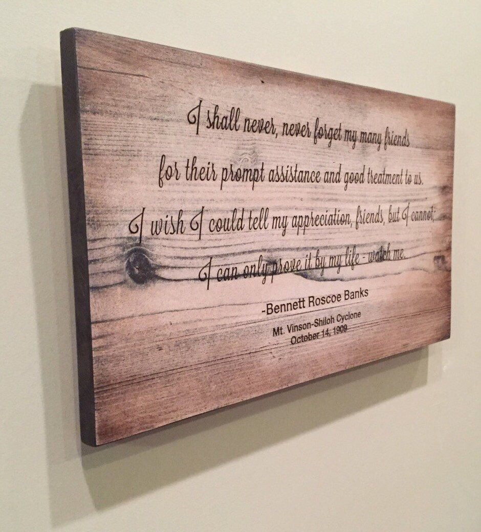 Personalized Wood Wall Art custom quote sign, engraved wood wall art, birthday gift, poetry