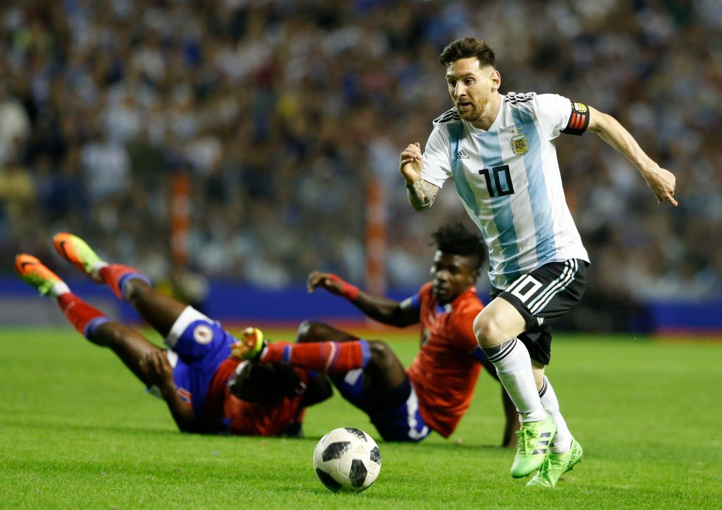 Soccer Lionel Messi speaks about Argentina's World Cup