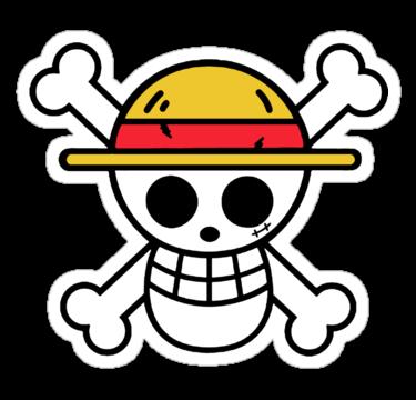 Luffy Strawhat Jolly Roger Sticker Tatuagens De Anime Tatuagem De Carro Tatuagem One Piece