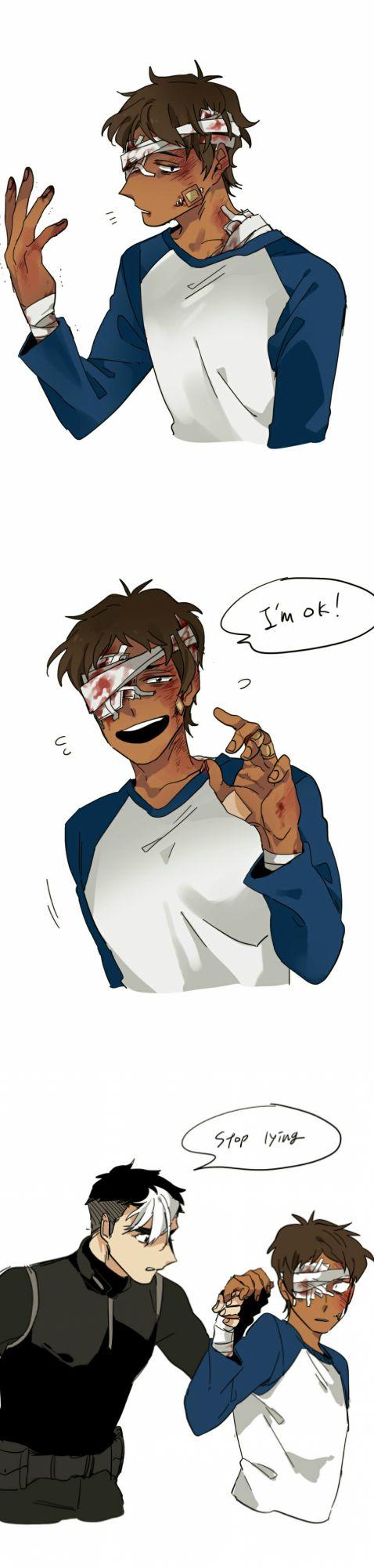 Shiro   Lance Pretty sure Lance will act this way in season 2