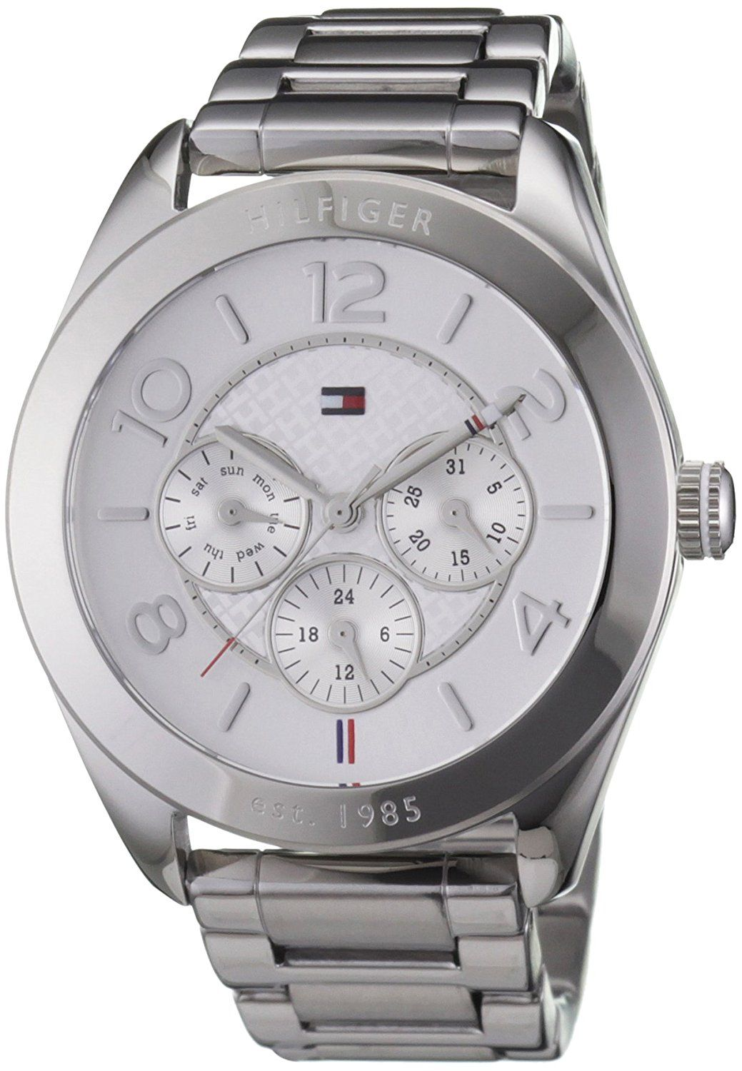 Tommy Hilfiger Womens Quartz Watch, multi dial Display and