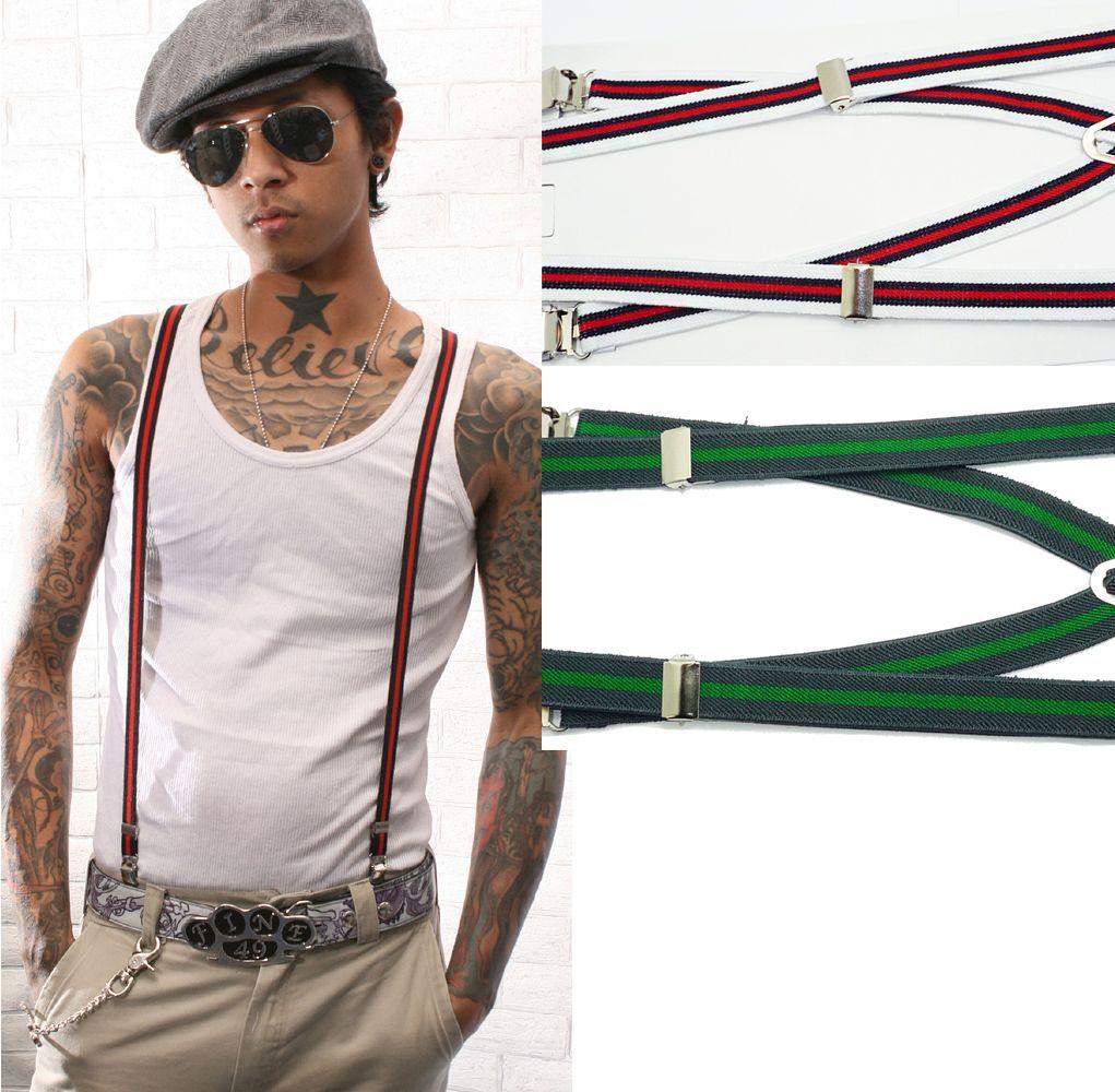 Coole underground vintage Gangster Style Hosenträger!! www ...