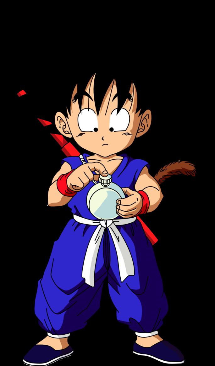 Dragon Ball Kid Goku Dibujos Goku Pequeno Arana Dibujo