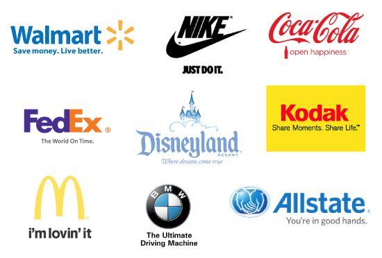 Brand Identity - taglines