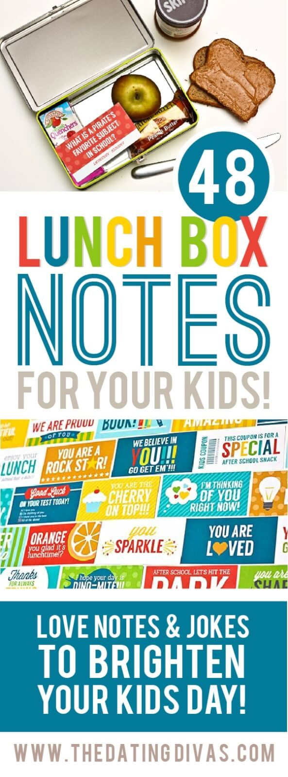 110+ Free Printable Lunch Box Notes To Share The Love images