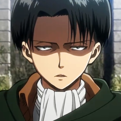 It S Just Levi But Look Straight Into His Eyes He Looks Right Into Your Soul Deep But Jeez Dat Attack On Titan Comic Attack On Titan Attack On Titan Anime