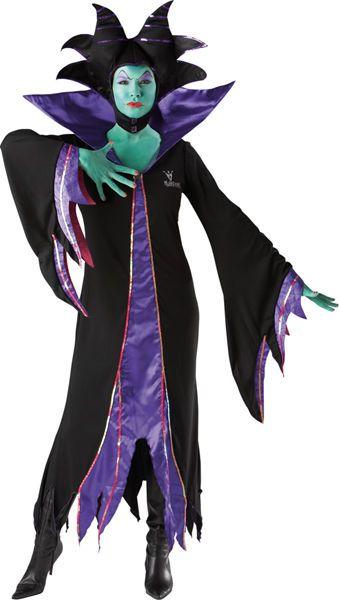 Naamiaisasu; Pahatar. Naamiaismaailmassa Pahattaren Disneyn lisensoimaan asuun kuuluvat mustan ja purppuran värinen mekko sekä päähine. Pahattaren asua voi kohentaa vihreällä tai harmaalla ihomaalilla, mustilla korkokengillä sekä mustalla lähes ihmisen mittaisella sauvalla. Naamiaisasu sisältää: - Mekon - Päähineen