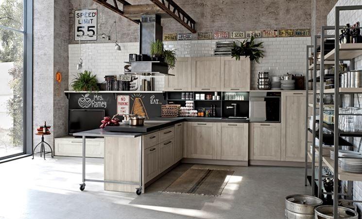 cucina stile industriale | stile industriale cucina | Pinterest ...