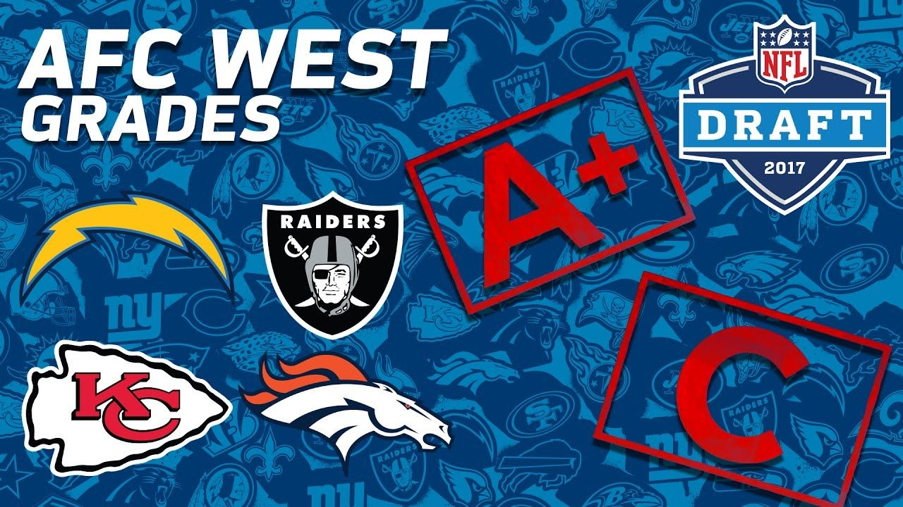 Broncos, Chiefs, Chargers, & Raiders AFC West 2017 NFL