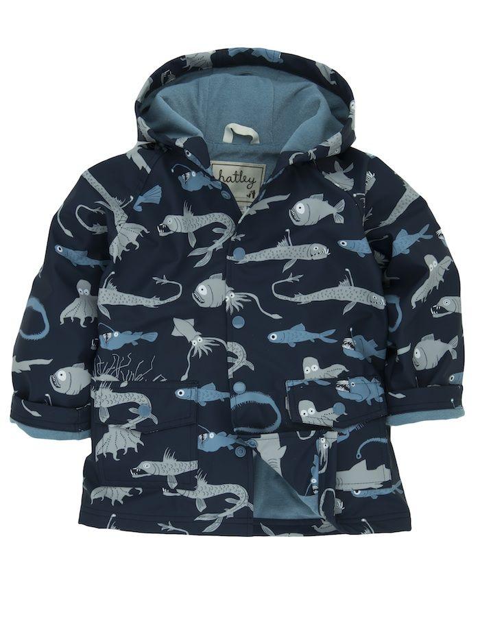 Hatley Deep Sea Creatures Raincoat £29.95