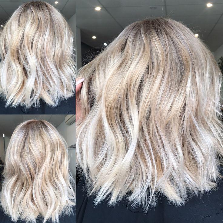 Blonde balayage, lange Haare, coole Mädchen Haare ✌️ Lebte in Haarfarbe Blo… – Neueste Frisuren