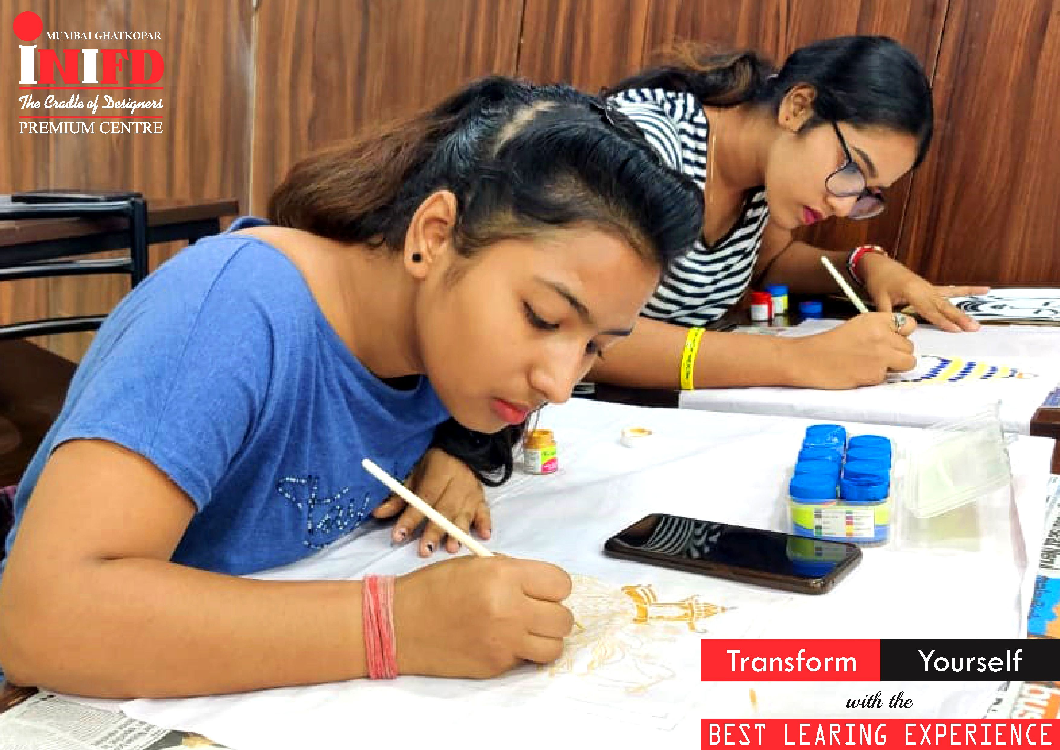 Transform Yourself By Learning Fashion Design Courses From Inifd Mumbai Ghatkopar Admissions Open Dipl In 2020 Interior Design Institute Design Course Fashion Design