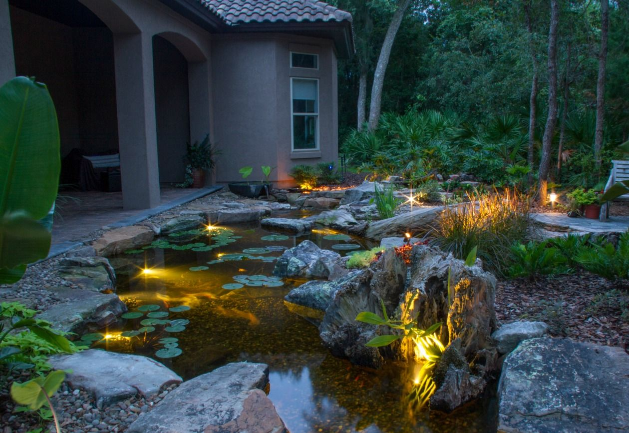 Underwater Pond Lights With Images