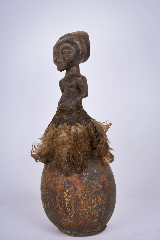 Magic Calabash - Calebash, Wood - Luba - Congo DRC in 2019   African Art