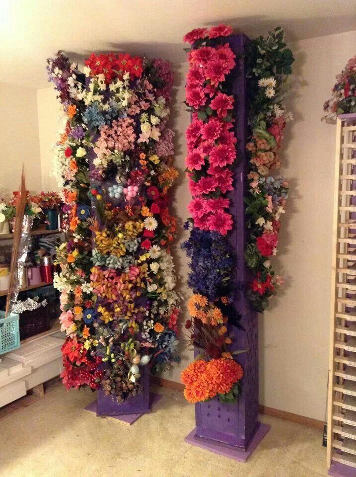 Rotating Flower Storage Silk Flower Crafts Flower Room Craft Room Storage