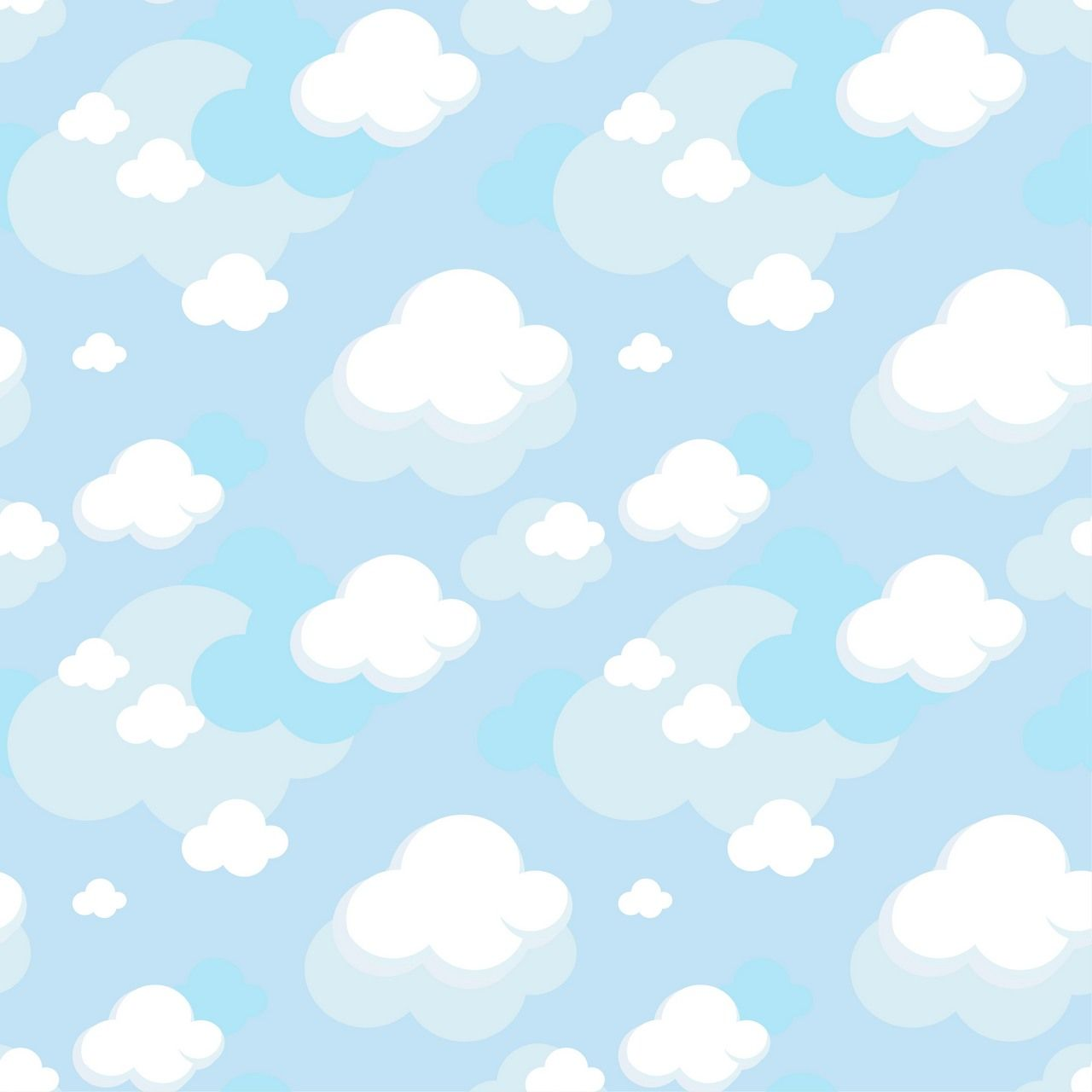 Pattern Cloud Background Vector Eps Free Download Logo Icons Brand Emblems Custom Photo Props Clouds Pattern Cute Pastel Wallpaper