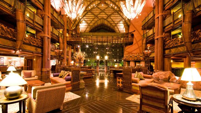 Disney's Animal Kingdom Lodge Hotel